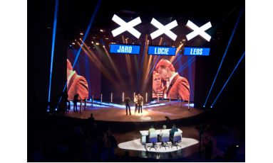 ZR3 Stage Rental LED Display in the Netherlands